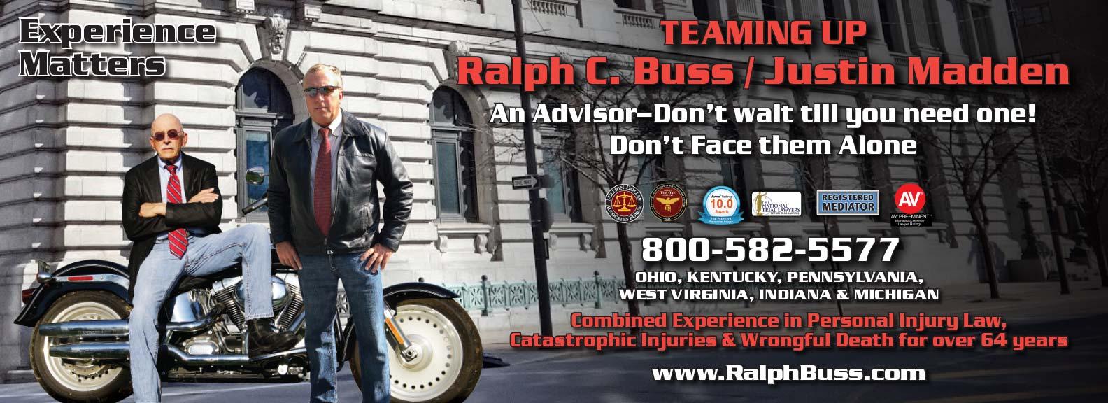 Ralph Buss Advertisement