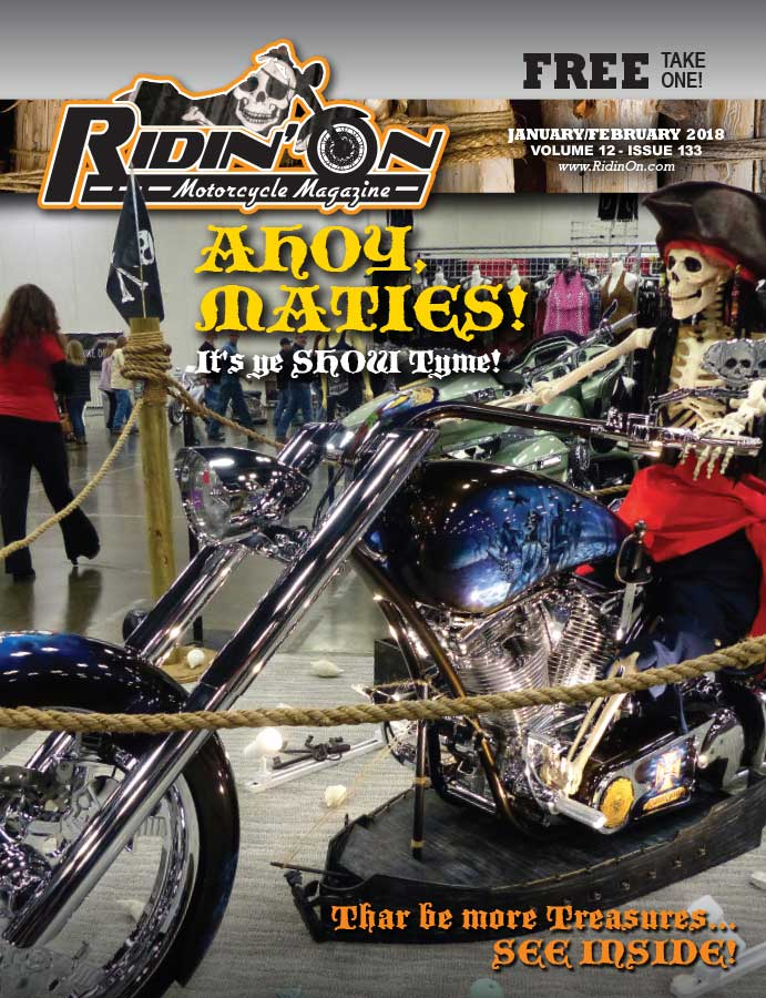 Ridin On Magazine Cover 2018 February