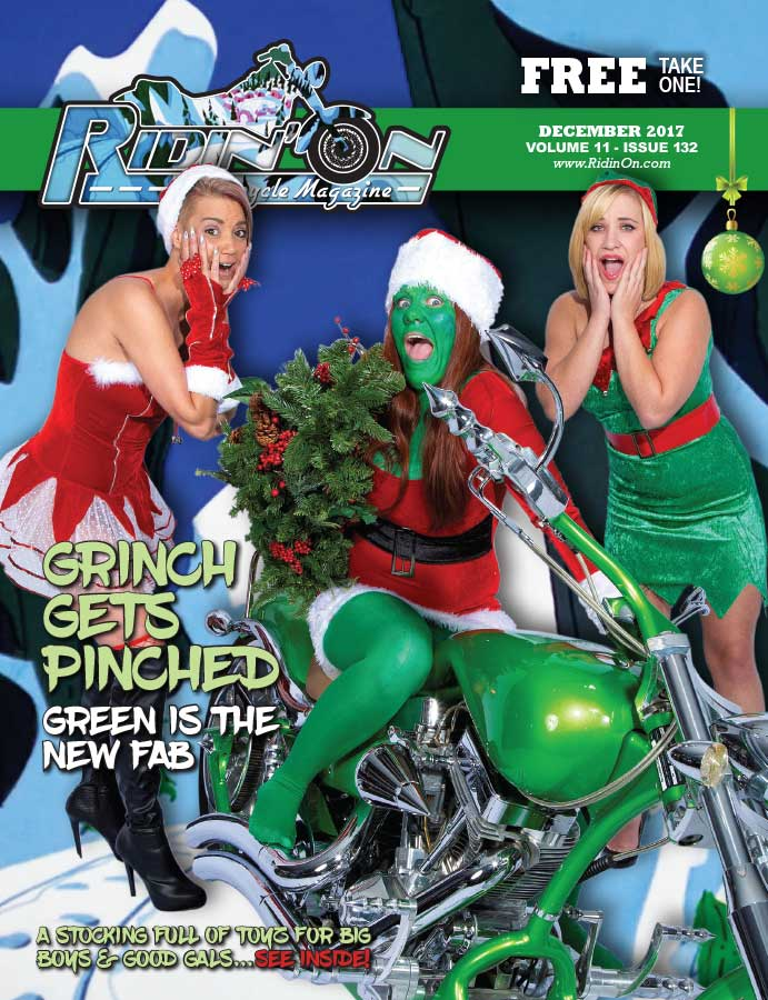 Ridin On Magazine Cover 2017 December