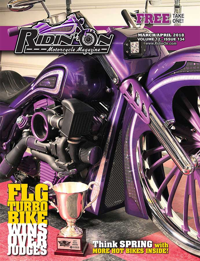 Ridin On Magazine Cover 2018 March